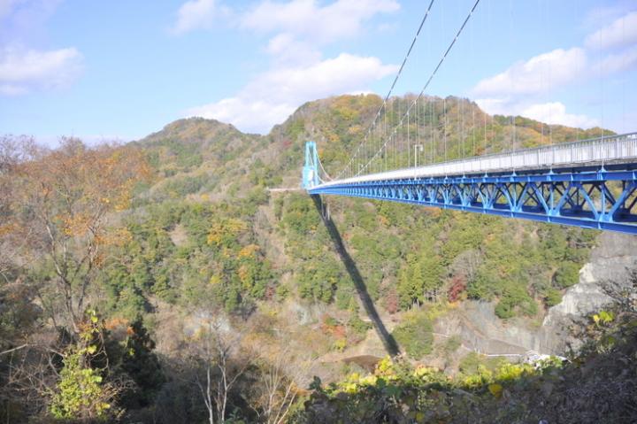 紅葉竜神橋