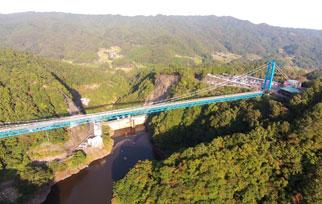 竜神大吊橋写真